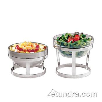 WOR4296118 - World Cuisine - 42961-18 - Tall Chrome Plated Large Bowl Holder Product Image