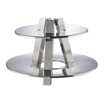 AMMDTS2013 - American Metalcraft - DTS2013 - Two Tiered Stainless Steel Display Product Image