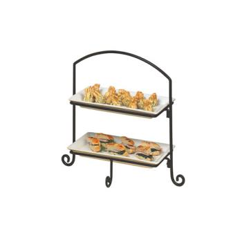 AMMIS11 - American Metalcraft - IS11 - Ironworks 18 3/8 in 3-Tier Stand Product Image