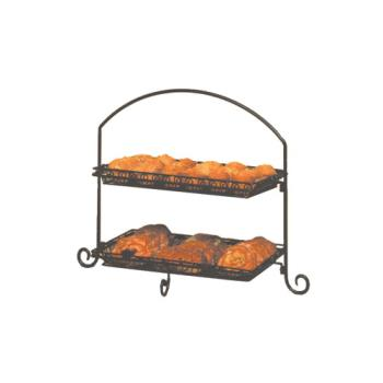 AMMIS12 - American Metalcraft - IS12 - Ironworks 23 1/2 in 3-Tier Stand Product Image