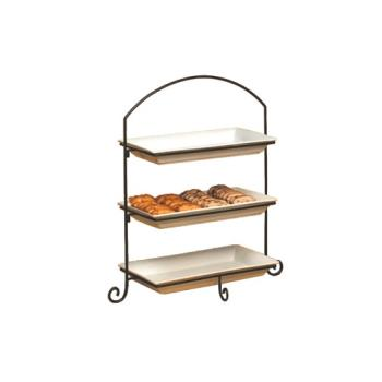 AMMIS13 - American Metalcraft - IS13 - Ironworks 32 3/8 in 3-Tier Stand Product Image