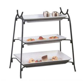 AMMIS14 - American Metalcraft - IS14 - Ironworks 25 1/2 in 3-Tier Stand Product Image