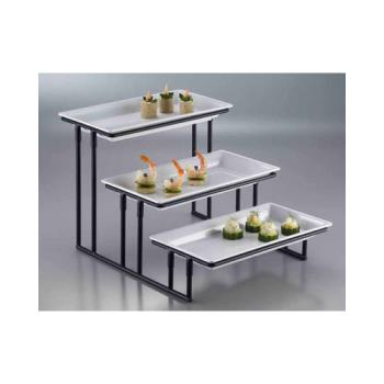 AMMIS18 - American Metalcraft - IS18 - Ironworks 12 in 3-Tier Stand Product Image