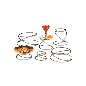 AMMSSUS6 - American Metalcraft - SSUS6 - Ironworks Swirl Riser Set Product Image