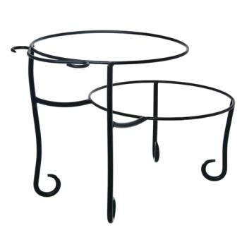 75708 - American Metalcraft - TLSP1219 - 12 in x 19 in 2-Tier Pizza Stand Product Image