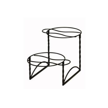 AMMTLTS1224 - American Metalcraft - TLTS1224 - 12 in x 24 in 2-Tier Pizza Stand Product Image