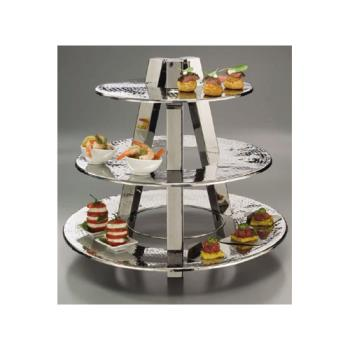 AMMTTS2319 - American Metalcraft - TTS2319 - Ascent3 20 in 3-Tier Display Stand Product Image
