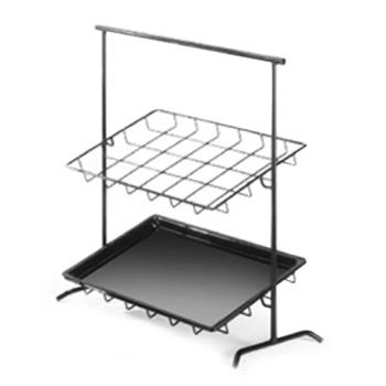 CLM1006 - Cal-Mil - 1006 - 26 in 2-Tier Tray Stand Product Image