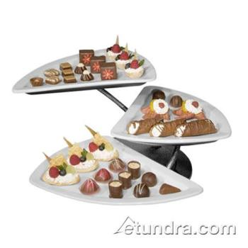 GMDPP603 - Cal-Mil - PP603 - Rotating Orbit Tier Stand w/3 Shark Porcelain Platters Product Image