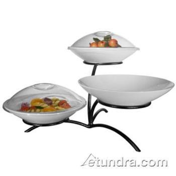 GMDPP703 - Cal-Mil - PP703 - 3-Level Stand w/Coupe Porcelain Bowls Product Image