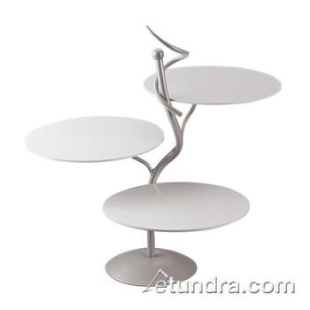 WOR4186804 - World Cuisine - 41868-04 - 3-Tier Display Stand w/White Trays Product Image