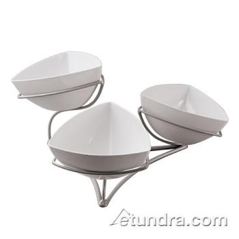 WOR41868W00 - World Cuisine - 41868W00 - 3-Level Stand w/White Bowls Product Image