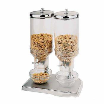WOR4181009 - World Cuisine - 41810-09 - Double 4.7 qt Cereal Dispensers Product Image