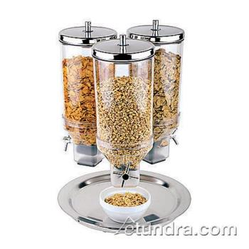 WOR4190913 - World Cuisine - 41909-13 - 3 Cereal Dispensers w/Stainless Base Product Image