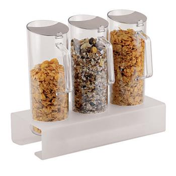 WOR4191804 - World Cuisine - 41918-04 - 3 Cereal Jugs w/Tall Holder Product Image
