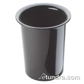CLM101713 - Cal-Mil - 1017-13 - 4 1/2 in Black Melamine Cylinder Product Image