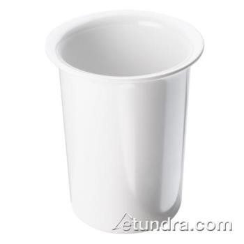 CLM101715 - Cal-Mil - 1017-15 - 4 1/2 in White Melamine Cylinder Product Image