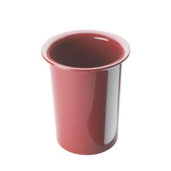 CLM101764 - Cal-Mil - 1017-64 - 4 1/2 in Cranberry Melamine Cylinder Product Image