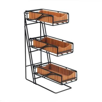 CLM123560 - Cal-Mil - 1235-13-60 - 3-Tier Flatware Holder Product Image