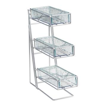 CLM123543 - Cal-Mil - 1235-39-43 - 3-Tier Flatware Holder Product Image
