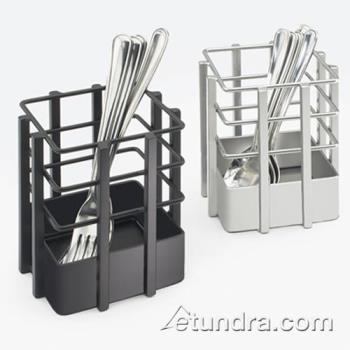 CLM154513 - Cal-Mil - 1545-13 - 7 1/2 in x 4 3/4 in Black Flatware Holder Product Image
