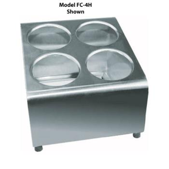 WINFC6H - Winco - FC-6H - 6-Hole Flatware Holder Product Image