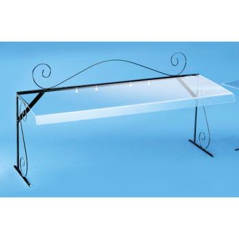 CLM7104 - Cal-Mil - 710-4 - 48 in Portable Sneeze Guard Product Image