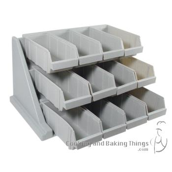 51293 - Cambro - 12RS12480 - 3-Tier Organizer Rack Product Image