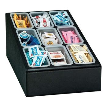 DRMCTCD9BT - Dispense-Rite - CTCD-9BT - Nine Section Countertop Condiment Organizer Product Image