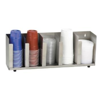 DRMCTLD22A - Dispense-Rite - CTLD-22A - S/S Cup And Lid Organizer Product Image