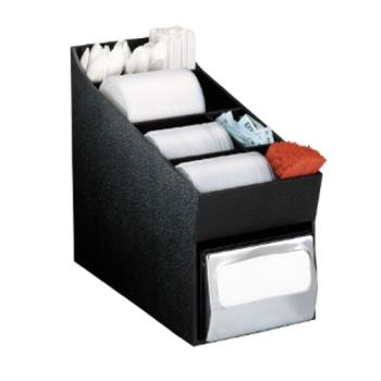 DRMNLOLDNH - Dispense-Rite - NLO-LDNH - Countertop Lid, Straw, Condiment And Napkin Organizer Product Image