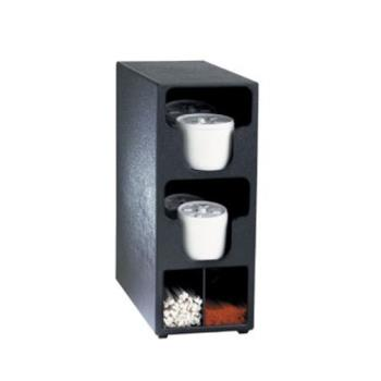 DRMTLO2BT - Dispense-Rite - TLO-2BT - Countertop Vertical Lid And Straw Organizer Product Image