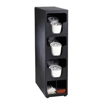 DRMTLO3BT - Dispense-Rite - TLO-3BT - Countertop Vertical Lid And Straw Organizer Product Image