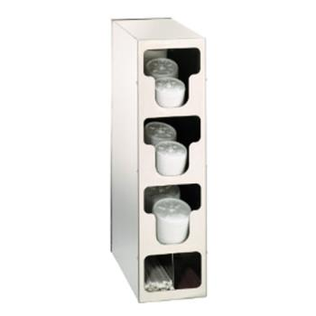 DRMTLO3SS - Dispense-Rite - TLO-3SS - Countertop Vertical Lid And Straw Organizer Product Image