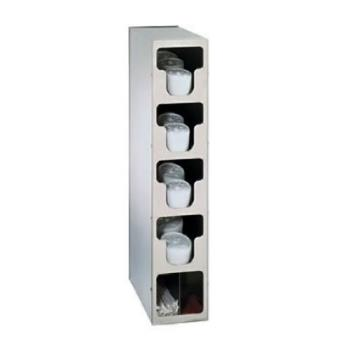 DRMTLO4SS - Dispense-Rite - TLO-4SS - Countertop Vertical Lid And Straw Organizer Product Image