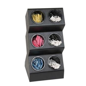 DRMVSCH6BT - Dispense-Rite - VSCH-6BT - Six Compartment Countertop Flatware Organizer Product Image