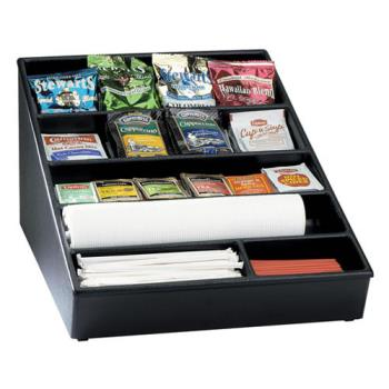 DRMWLS1BT - Dispense-Rite - WLS-1BT - Wide Countertop Lid, Straw And Condiment Organizer Product Image