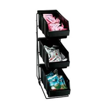 DRMWRCOND3 - Dispense-Rite - WR-COND-3 - Three Compartment Wire Rack Condiment Organizer Product Image