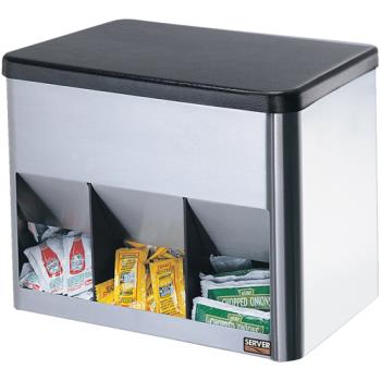 SVP85090 - Server - 85090 - 3-Compartment Portion Pack Organizer Product Image