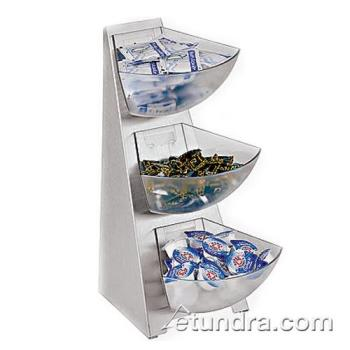 WOR4191103 - World Cuisine - 41911-03 - 3-Bin Condiment Tower Product Image