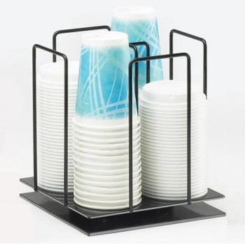 CLM12124 - Cal-Mil - 1212-4 - 4 Section 4 in Lid and Ramekin Dispenser Product Image