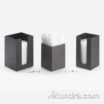 CLM29813 - Cal-Mil - 298-13 - 4 in x 4 in Black Lid Dispenser Product Image
