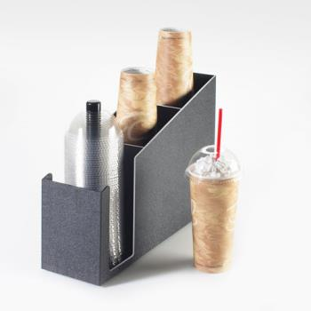 CLM724 - Cal-Mil - 724 - 3-Tier Cup and Lid Dispenser Product Image