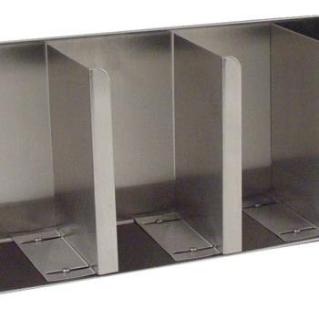 51248 - Carlisle - 388804L - 4 Compartment Lid and Straw Dispenser Product Image