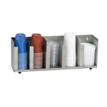 DRMCTLD22 - Dispense-Rite - CTLD-22 - 5-Section Adjustable Cup/Lid Dispenser Product Image