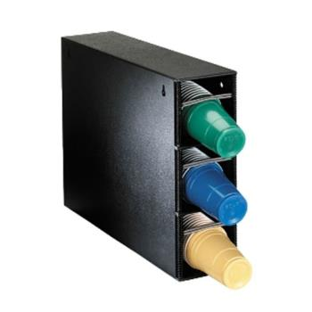 DRMPLCT3BT - Dispense-Rite - PL-CT-3BT - Vertical Polystyrene Cup Dispensing Cabinet Product Image
