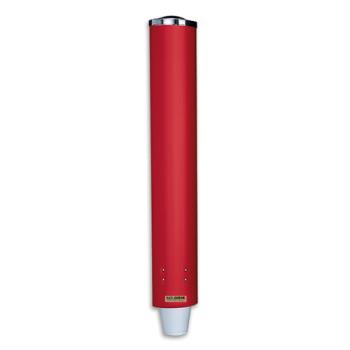 SANC4210PRD - San Jamar - C4210PRD - Pull-Type 4-10 Oz Cup Red Dispenser Product Image