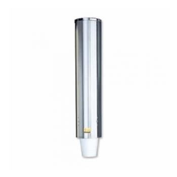 SANC4400PF - San Jamar - C4400PF - Pull-Type 12-24 Oz Cup Stainless Dispenser Product Image