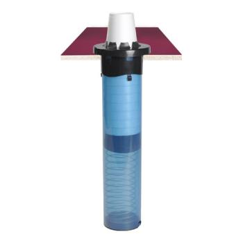 51427 - San Jamar - C5450C18 - 8 - 44 oz 18 in Sentry® Drop-in Cup Dispenser Product Image
