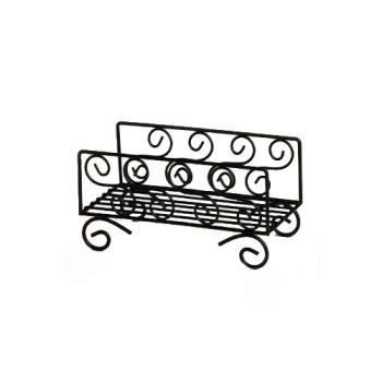 AMMNDSS95 - American Metalcraft - NDSS95 - Ironworks™ Scroll Wrought Iron Napkin Basket Product Image